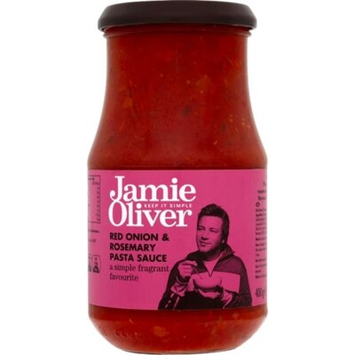 Jamie Oliver Red Onion& Rosemary pasta sauce 400g