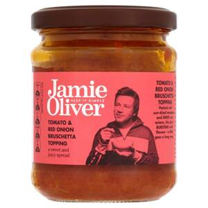 Jamie Oliver Tomato & Red Onion Bruschetta Topping 180g